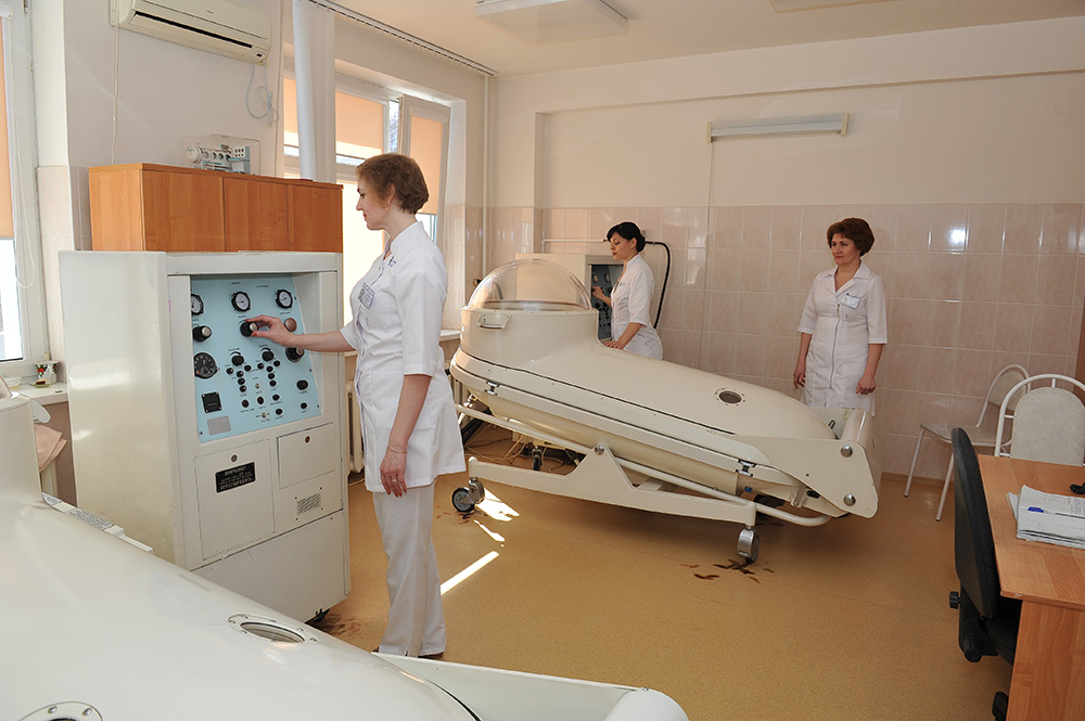 Кабинет гипербарической оксигенации Клиники СамГМУ
